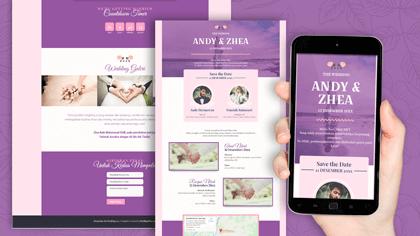 Undangan Pernikahan Digital Desain 15