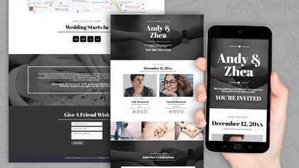 Undangan Pernikahan Digital Desain 22