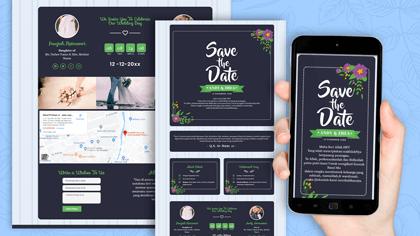 Undangan Pernikahan Digital Desain 27