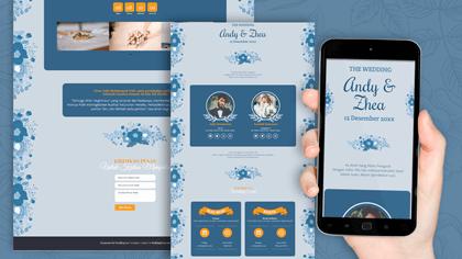 Undangan Pernikahan Digital Desain 29
