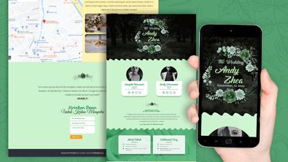 Undangan Pernikahan Digital Desain 30