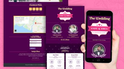 Undangan Pernikahan Digital Desain 39