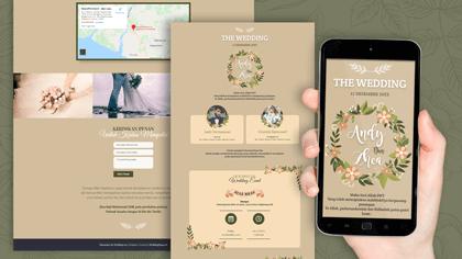 Undangan Pernikahan Digital Desain 11
