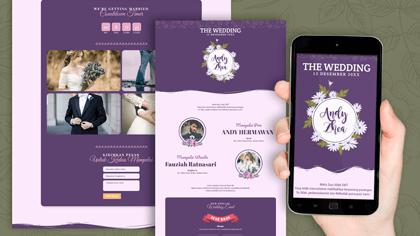Undangan Pernikahan Digital Desain 12