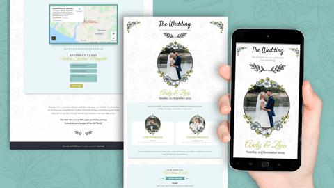 Undangan Pernikahan Digital Desain 04