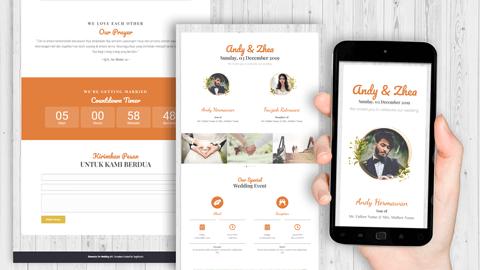 Undangan Pernikahan Digital Desain 02