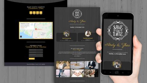 Undangan Pernikahan Digital Desain 03
